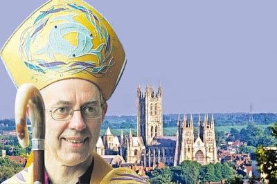 Welby's appointment as new Archbish of Canterbury 'a retrogressive step'
