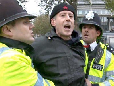 Muslim leader's lackeys 'arrest' human rights campaigner Peter Tatchell