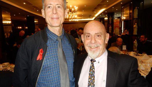 Pink Humanist editor Barry Duke receives a Lifetime Achievement award