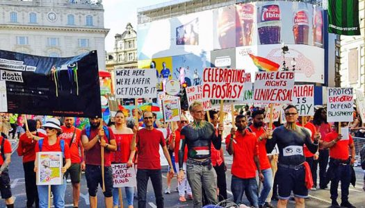 Pink Triangle Trust supports right of  ex-Muslims to march in London Pride