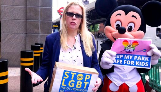 'Get lost!' Disney rejects anti-gay petition.
