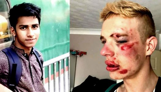 Muslim's response to homophobic attack: 'It's great you are beaten'