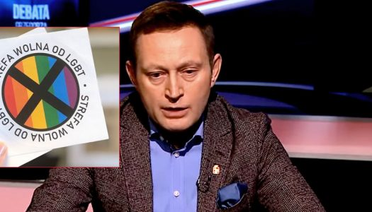 Right-wing Polish magazine plans to distribute hateful anti-gay stickers