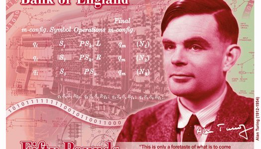 Gay hero Alan Turing will be the face of Britain's new £50 note