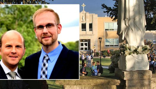 Sacked gay teacher files a lawsuit against Indianapolis diocese