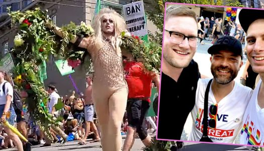 Evangelical who ditched Christianity surfaces at Vancouver Gay Pride