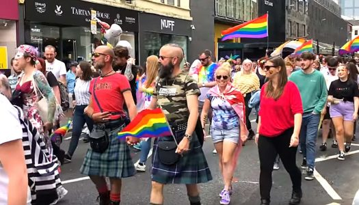 Older Scots are less tolerant of LGBT communities