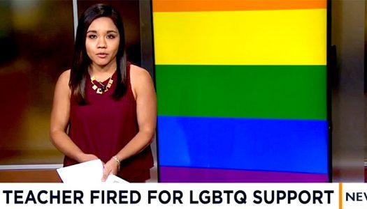 US Catholic school sacks teacher over old pro-gay Facebook post