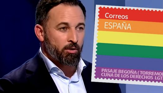 Spain's far-right Vox party accidentally sparks demand for rainbow stamps