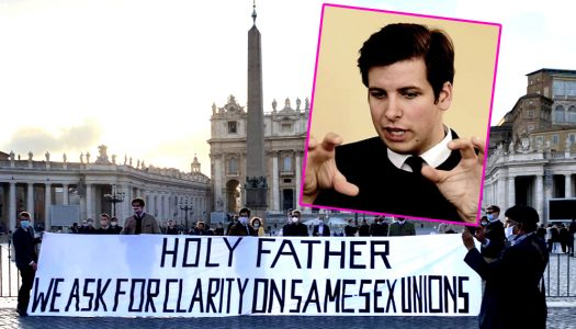 Catholic zealot mobilises cronies to demand 'clarification' of Pope's words on gay civil unions