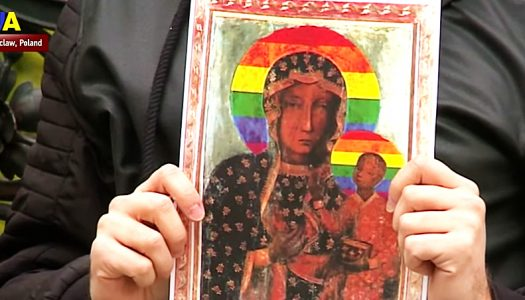 Bigots want a Catholic priest punished for tweeting a 'blasphemous' image of the Virgin Mary