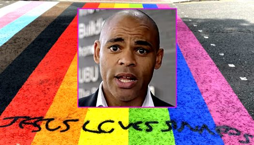 Bristol Council moves swiftly to remove hateful graffiti from rainbow crossing